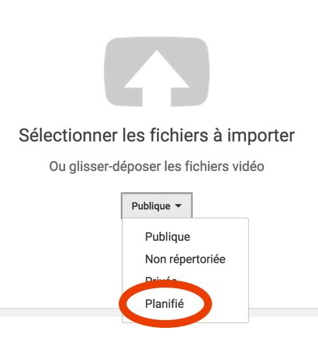 tuto automatisation youtube 1