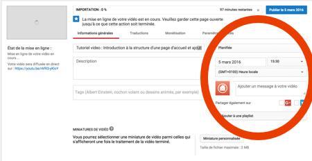 tuto automatisation youtube 2